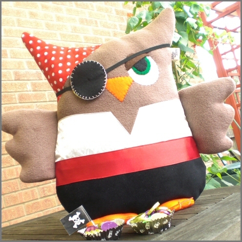 Rusty the Pirate Owl