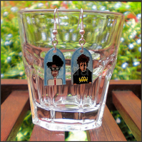 IT Crowd earrings - Moss and Roy