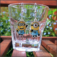 Minion earrings - Despicable Me