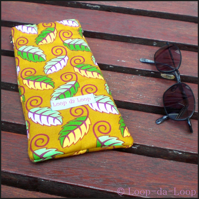 Autumnal sunglasses case