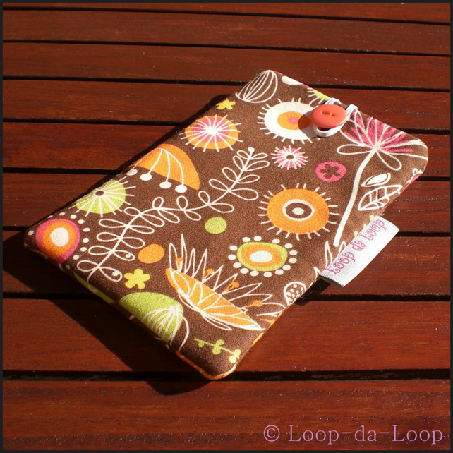 Wild Thyme mobile phone pouch (small)