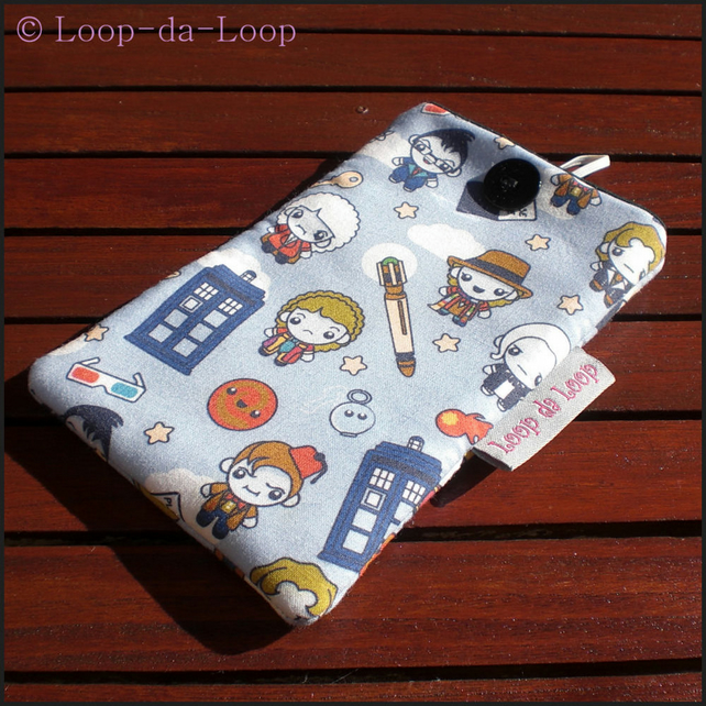 Doctor Who mobile phone pouch (large)
