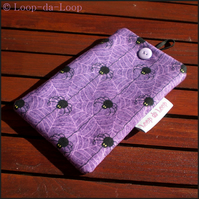 Spider mobile phone pouch (large)