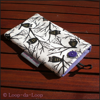 Owls mobile phone pouch (large)