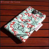 Cherry blossom mobile phone pouch (small)