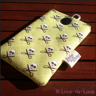 Quilting pirate mobile pouch (small)
