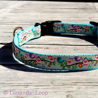 Love Birds dog collar