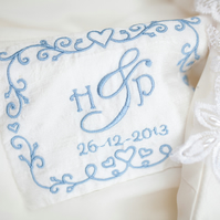 Personalised Wedding Dress Label