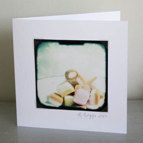 Greeting card: Dolly mixture