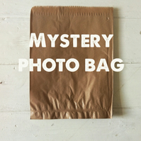 Mystery photo bag - four 5x5 inch prints, plus two 3x3 inch prints. Lucky dip
