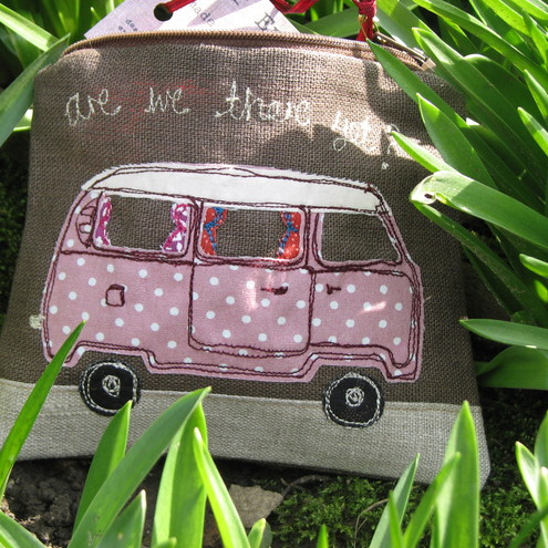 Cute VW Camper van coin purse