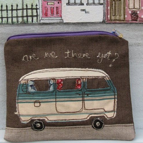 VW Camper van purse 'Are We There Yet?'