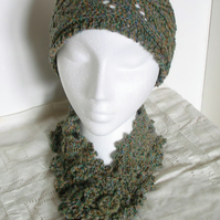 Victoria Headband and Scarflette Pattern