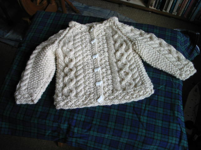 Child's Aran jacket Pattern