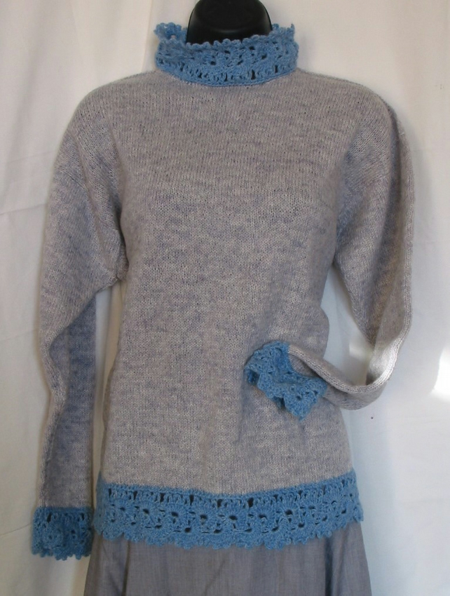 Pattern 'Rosemarkie ' Sweater