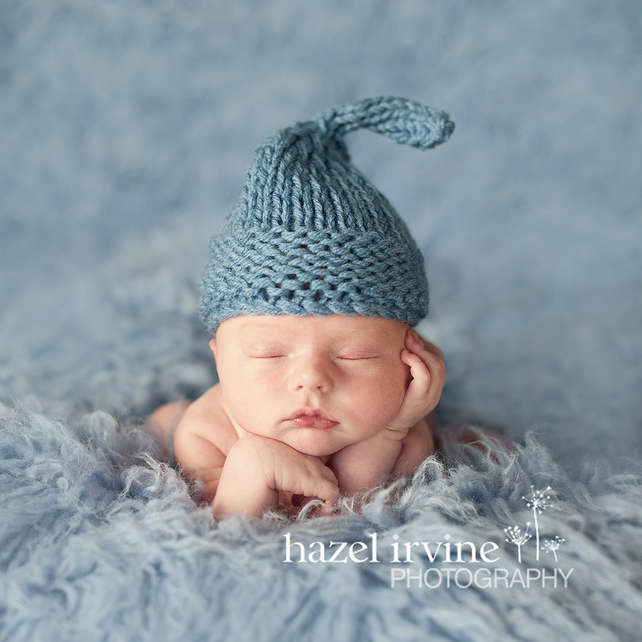Baby Hats Knitting Patterns Chunky Wee Wil Folksy