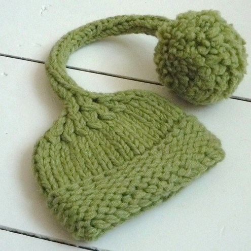 Knitting Pattern Central Baby Hats : FREE KNITTING PATTERNS CHUNKY BABY HATS   KNITTING PATTERN
