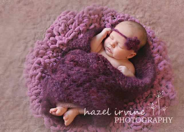 knitting patterns - baby wrap or small blanket ... - Folksy