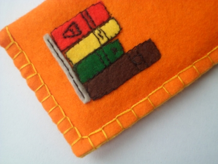 Funky Felt Glasses Case