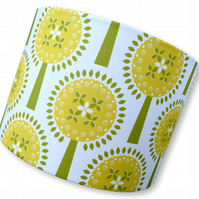Ivy's Orchard - Yellow -    30cm Handmade Lampshade