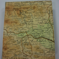 Vintage Scottish map Journal