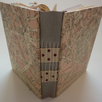 """Palais Du Luxembourg""  HANDMADE JOURNAL SPECIAL PACKAGE WITH FREEBIES!"