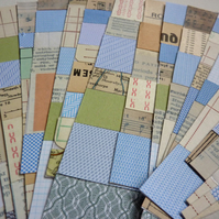 Vintage & recycled paper sticker tape