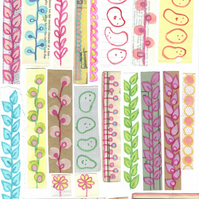 Pack of over 70 colourful stickers