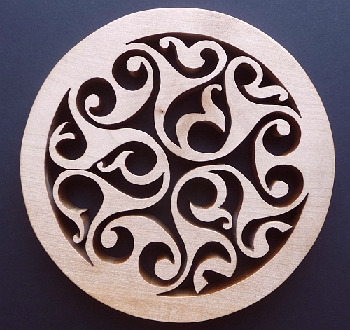 Curly Celtic Trivet