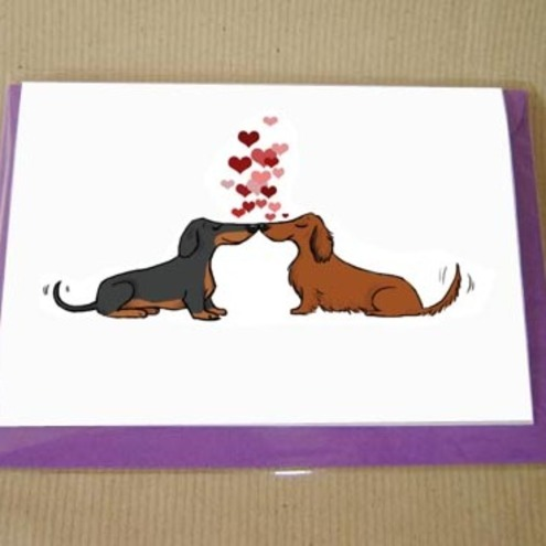 Daxie Heart Card
