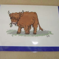 Heilin' Coo Card