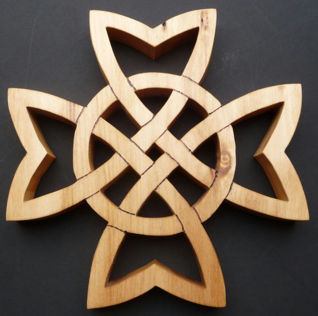 Celtic Cross Trivet.