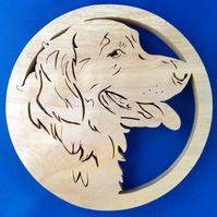 Golden Retriever Trivet ( Hot  Pot Holder)
