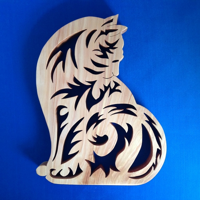 Sitting Cat Trivet ( hot pot holder)