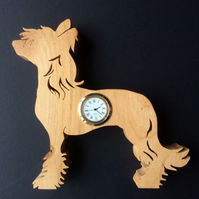 Shaped Chinese Crested Clock