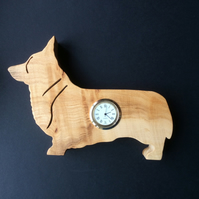 Shaped Corgi Clock