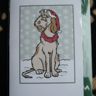 Spinone Christmas Card