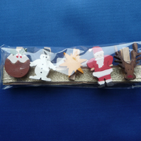 Christmas card holder set 3