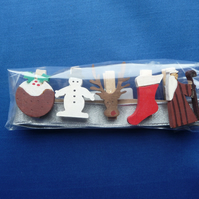 Christmas card holder set 5