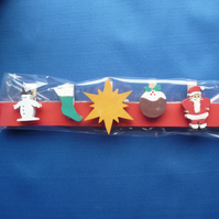 Christmas card holder set 6