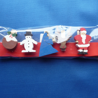 Christmas card holder set 7