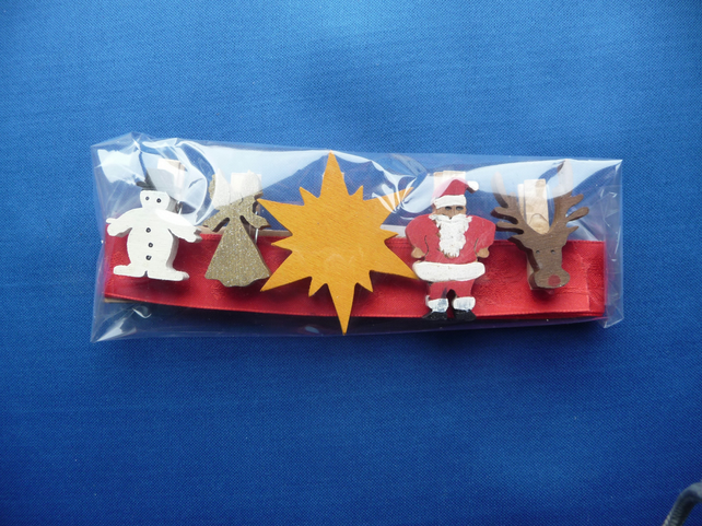 Christmas card holder set 2