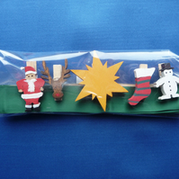 Christmas card holder set 1