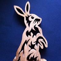 Celtic Rabbit Trivet -Pot holder.