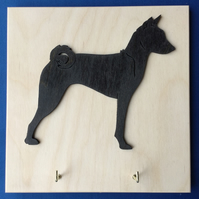 Basenji Key or Lead Holder
