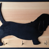 Bassett Hound Key or Lead Holder