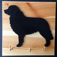 Bernese Mountain Dog Leadholder Keyholder