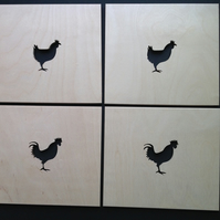 Chicken Placemats