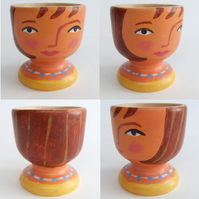 Egg Cup Army Egg Cup (Jane)
