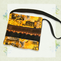 Sunflower Satchel - Yellow Velvet Strong Shoulder Bag - Yellow Satchel Schoolbag